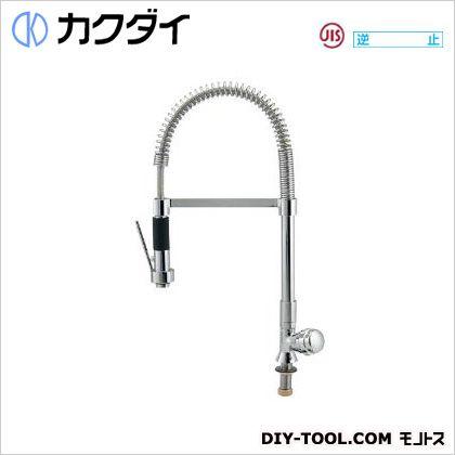カクダイ 立形グラスフィラ水栓  700-805-13