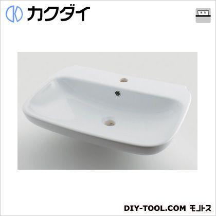 カクダイ 角型洗面器 8L #LY-493206