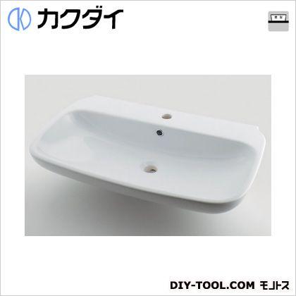 カクダイ 角型洗面器 9L #LY-493207