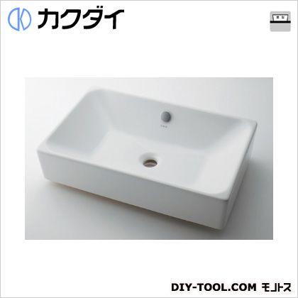 カクダイ/KAKUDAI 角型洗面器 5L #VR-4434B0030012