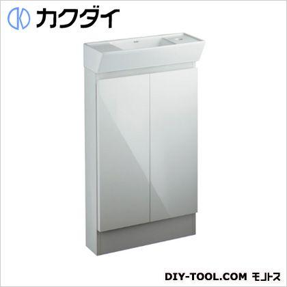 カクダイ(KAKUDAI) 角型手洗器(キャビネットつき) 200-311