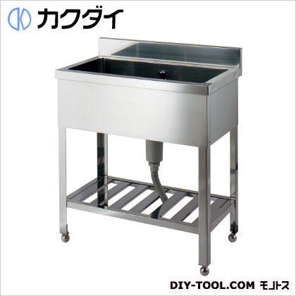 カクダイ ステンレスシンク(1槽式)  457-102-120