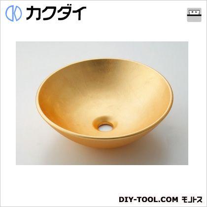 カクダイ(KAKUDAI) 丸型手洗器 山吹 493-095-G