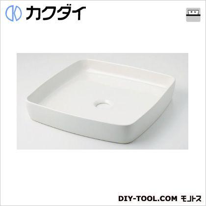 カクダイ 角型手洗器 シュガー 493-096-W