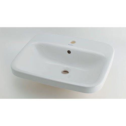 DURAVIT 角型洗面器 白(ホワイト) 呼46・横560・縦455 (#DU-0374560000) 1