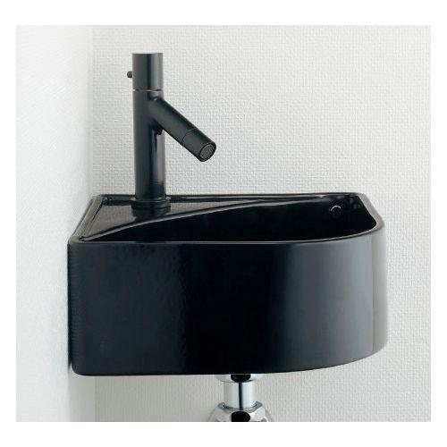 MINO 壁掛手洗器//ブラック 黒(ブラック) 493-150-D 1