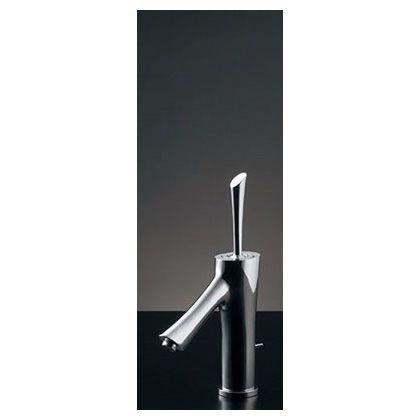 風(KAZE:かぜ) シングルレバー混合栓 クローム(メタル) (183-211)