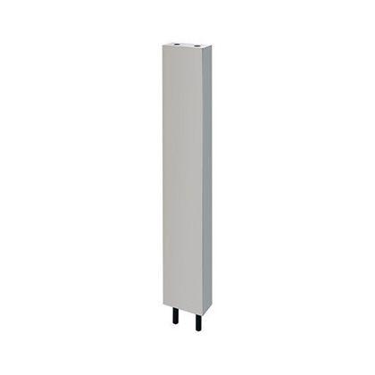 カクダイ 厨房用ステンレス水栓柱(立形水栓用) クローム(メタル) 13 624-610S-120