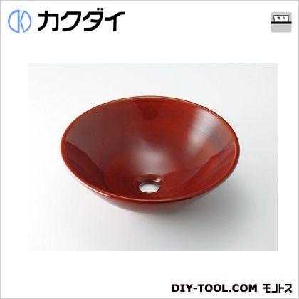 カクダイ 丸型手洗器 飴 493-046-BR