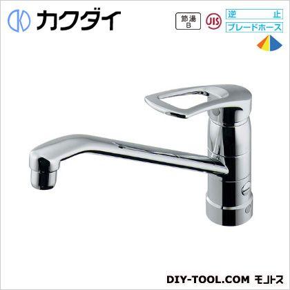 カクダイ シングルレバー混合栓(分水孔つき)  117-061