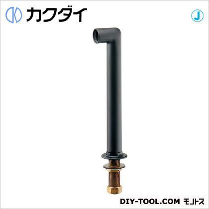 カクダイ/KAKUDAI カラー水栓取付脚 マットブラック 104-113