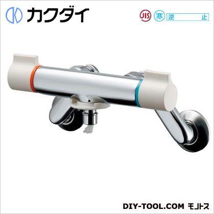 カクダイ 洗濯機用混合栓(ストッパーつき)  127-110K