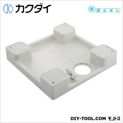 カクダイ 洗濯機用防水パン(水栓つき) (426-502K)