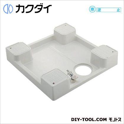 カクダイ 洗濯機用防水パン(水栓つき)  426-502