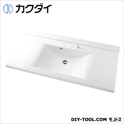 カクダイ ボウル一体型カウンター 12L 497-022H
