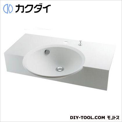 カクダイ ボウル一体型カウンター 5.8L 497-023H
