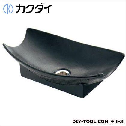 カクダイ(KAKUDAI) 舟型手水鉢 砂鉄 624-935
