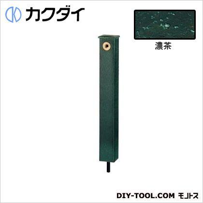 カクダイ(KAKUDAI) 庭園水栓柱 濃茶 624-193