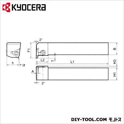 京セラ ホルダー (KGBASR2525M-16) 金工用アクセサリー 金工 アクセサリー