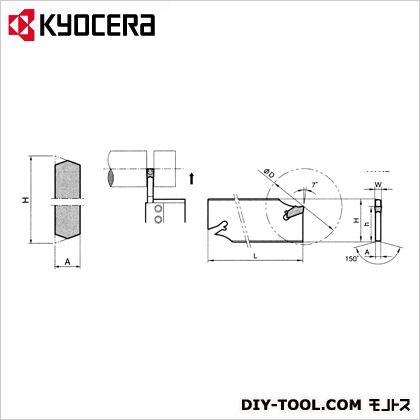 京セラ ブレード THP05180 (KTKB26-4S) 金工用アクセサリー 金工 アクセサリー