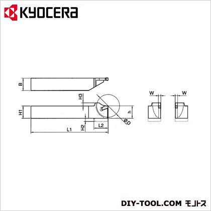 京セラ ホルダー (KTKHR1612H-2S) 金工用アクセサリー 金工 アクセサリー