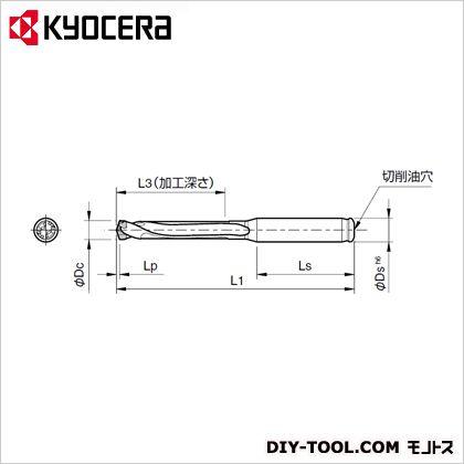 京セラ マジックドリル (SS20-DRC180M-5) 金工用アクセサリー 金工 アクセサリー