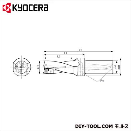 京セラ マジックドリル (S40-DRZ54108-20) 金工用アクセサリー 金工 アクセサリー
