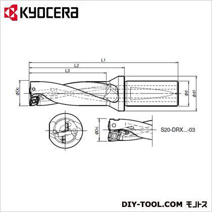 京セラ S25-DRX155M-3-05  S25-DRX155M-3-05