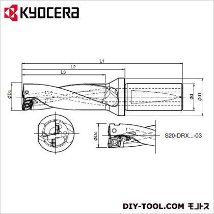 京セラ S25-DRX160M-4-05 (S25-DRX160M-4-05) 金工用アクセサリー 金工 アクセサリー