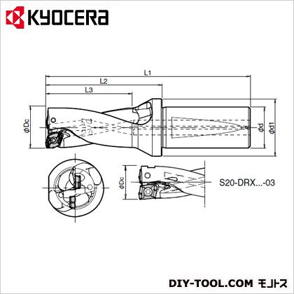 【特別セール品】 S25-DRX250M-2-07:DIY  S25-DRX250M-2-07 ONLINE 京セラ FACTORY SHOP -DIY・工具