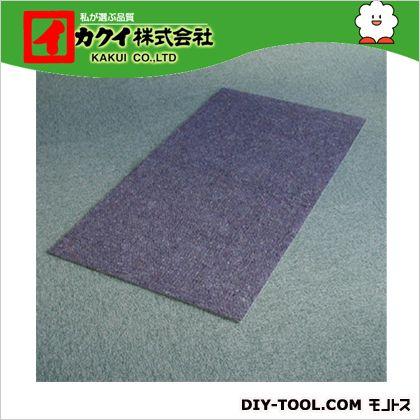 カクイ フロアマット 青 幅×奥行×高さ:90×500×0.7cm FBR-905 10 本