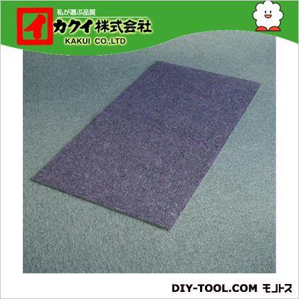 カクイ フロアマット 青 幅×奥行×高さ:90×1000×0.7cm FBR-910 5 本