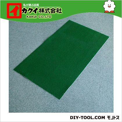 カクイ フロアマット 緑 幅×奥行×高さ:90×5000×0.7cm FMR-9050 1 本