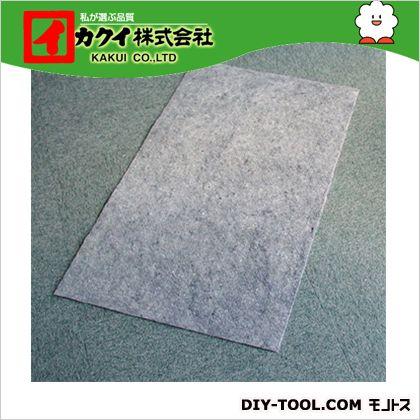 カクイ フロアマット グレー 幅×奥行×高さ:90×500×0.2cm FGRU-905 10 本