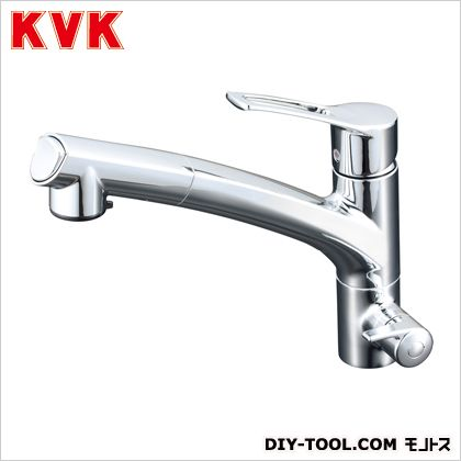 KVK 浄水器専用シングルレバー式シャワー付混合栓 奥行×高さ:250×681mm KM5061N