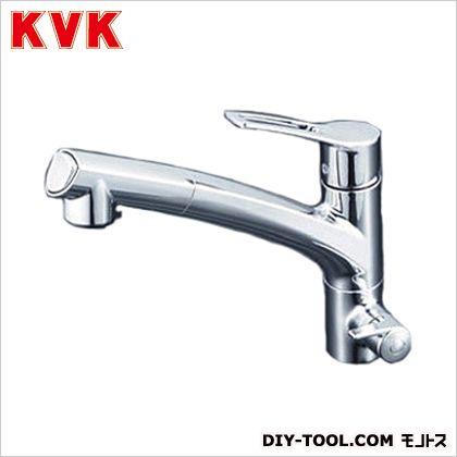KVK 浄水器専用シングルレバー式シャワー付混合栓 奥行×高さ:250×681mm KM5061NCK
