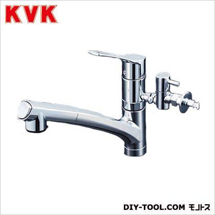流し台用シングルレバー式シャワー付混合栓 ケイブイケイ 混合栓 キッチン用シングルレバー混合栓