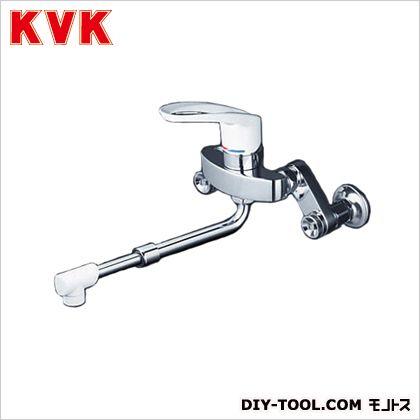 シングルレバー式混合栓(伸縮自在パイプ付) ケイブイケイ 混合栓 シングルレバー混合栓