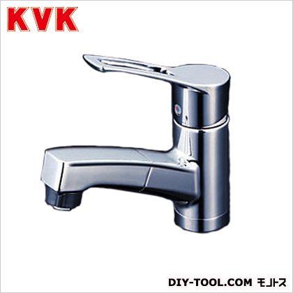 KVK 洗面用シングルレバー式シャワー付混合栓 奥行×高さ:153×625mm KM8001ZTF