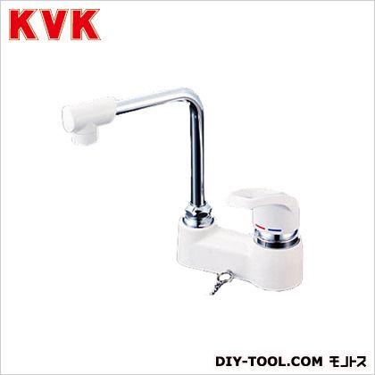 KVK ついに再販開始 洗面用シングルレバー式混合栓 ゴム栓なし KM7024Z お買い得品 幅×奥行×高さ:140×130×255mm