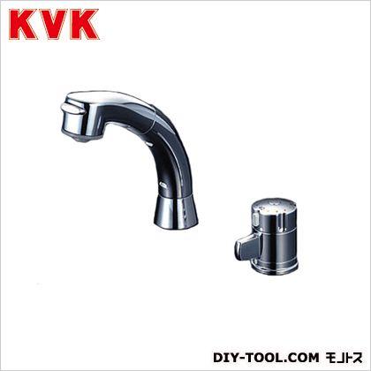 KVK サーモスタット式洗髪シャワー 奥行:137mm KF125G2N