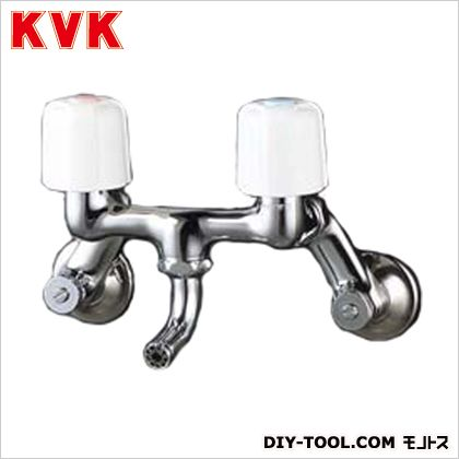 洗面用2ハンドル混合栓 固定こま ケイブイケイ 混合栓 スタンダード2ハンドル混合栓