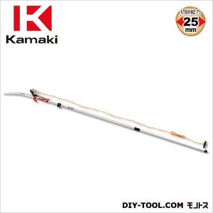 カマキ ジョイント式高枝切鋏アルミポール3m 全長1.4~3.0m #1000-DXA