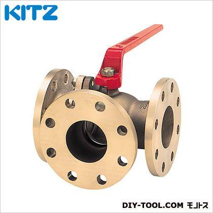 KITZ 青銅製Tボールバルブ(三方)  TNB1.1/2B[40A]