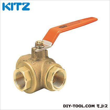 KITZ 青銅製Tボールバルブ(三方) (T4T1.1/2B[40A])
