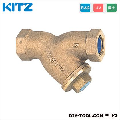 KITZ 鉛フリー青銅製Y形ストレーナ (YNWK2B[50A])