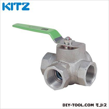 KITZ ステンレス製ボールバルブ (UTH4LM3/4B[20A])