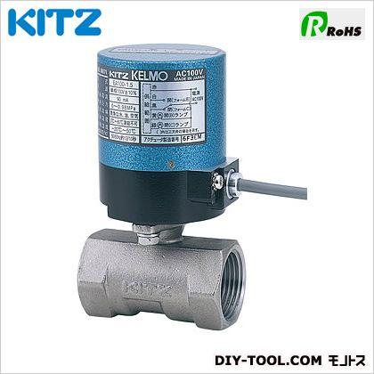 KITZ 電動ステンレス製ボールバルブ (EA200-UTE1/4B[8A])