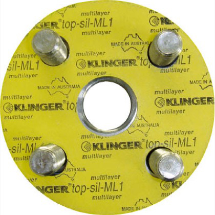クリンガー フランジパッキン(5枚入り) ML1-10K-100A 1袋 ML110K100A