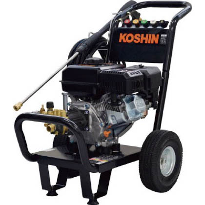 工進 農業用エンジン式高圧洗浄機 ブラック JCE-1408UDX